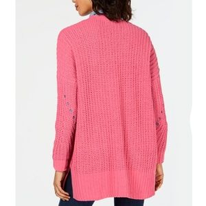 Style & Co Sweaters - STYLE & CO Chenille Open Front Cardigan